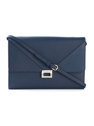Tod's 'D Cube Mini' Clutch Blue