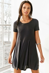Silence And Noise Silence Noise Riley Trapeze Dress Black