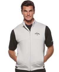 Callaway Performance Zip Front Fleece Golf Vest High Rise