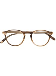 Garrett Leight Hampton Demi Blonde Glasses 60