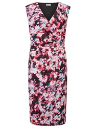 Planet Peony Print Dress Multi Pink