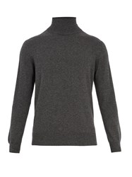 Raey Roll Neck Cashmere Sweater Grey