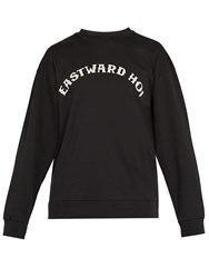 A.P.C. Eastward Oh Cotton Sweatshirt Black
