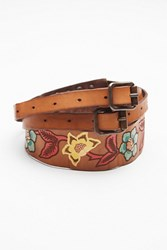 Campomaggi Womens Painted Leather Waistbelt