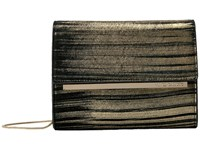 Vince Camuto Mavil Clutch Gold Black Clutch Handbags