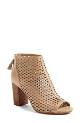 Women's Bp. Caat Open Toe Bootie Nude Leather