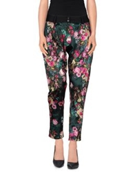 Mary Jane Casual Pants Deep Jade