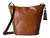 Elliott Lucca Keri Hobo Brown Snake Hobo Handbags