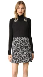 Carven Dress Black White