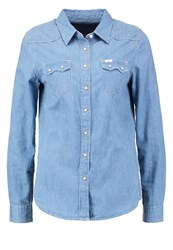 Lee Shirt Light Stone Light Blue Denim
