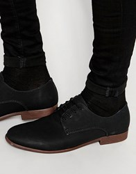 New Look Derby Shoes In In Black