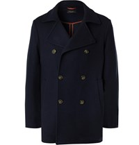 Loro Piana Bellrock Cashmere Blend Peacoat Blue