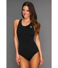 Tyr Durafast Elite Solid Maxfit Swimsuit Black Women's Swimsuits One Piece