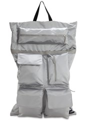 Raf Simons Eastpak Rs Poster Backpack Silver