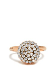 Selim Mouzannar Diamond And Pink Gold Beirut Ring