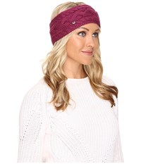 Ugg Cable Headband Bougainvillea Headband Pink