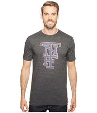 The North Face Short Sleeve American Tri Blend Slim Tee Tnf Dark Grey Heather Men's T Shirt Gray