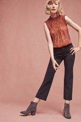 Anthropologie The Essential Crop Trousers Navy