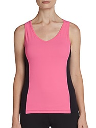 Fila Colorblock Performance Tank Shocking Pink