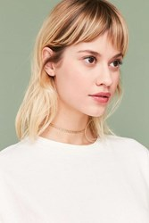 Urban Outfitters Curb Chain Choker Necklace Gold