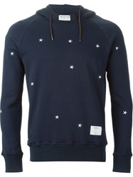 The Editor Embroidered Star Hoodie