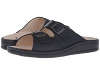 Finn Comfort Kreta Black Men's Shoes