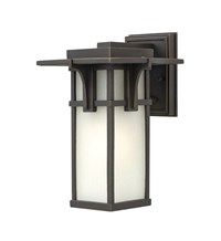 Hinkley Manhattan Outdoor Wall Light Seedy Glass 2230Oz Small 11.8 In H Incandescent Brown