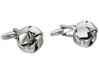 Stacy Adams Soft Love Knot Cuff Links Silver Cuff Links