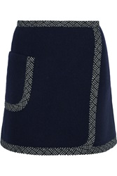 See By Chloe Wool Blend Mini Skirt