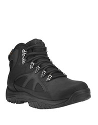 Timberland Bridgeton Mid Hiker Waterproof Leather Lug Sole Boots Black