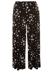 Evans Floral Printed Wide Leg Trouser Multi Coloured