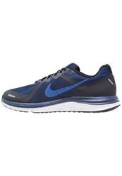 Nike Performance Dual Fusion X 2 Neutral Running Shoes Loyal Blue Hyper Cobalt Black White Reflect Silver