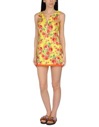 Miss Naory Swimwear Beach Dresses Yellow