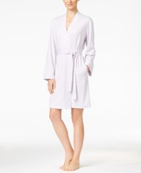 Charter Club Lightweight French Terry Robe Only At Macy's Lavender