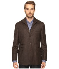 Kroon Ritchie Hybrid Coat Brown Men's Coat