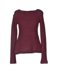 By Zoe Sweaters Maroon
