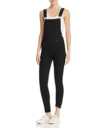 Cheap Monday Skinny Overalls In Black