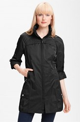 Women's Rainforest Packable Roll Sleeve Anorak Black