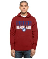 47 Brand '47 Men's Philadelphia 76Ers Knockaround Headline Pullover Hoodie Red