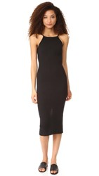Autumn Cashmere Rib Dress Black