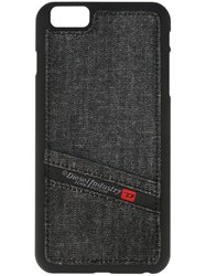 Diesel 'Pluton Pocket' Iphone 6 Plus Case Black