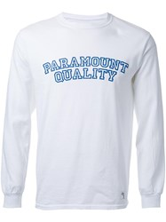 Bedwin And The Heartbreakers 'Paramount Quality' Longsleeved T Shirt White