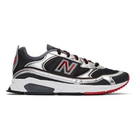 New Balance Black And Silver X Racer Sneakers