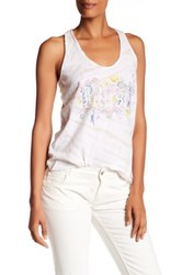 Zadig And Voltaire Alda Print Tie Dye Tank White