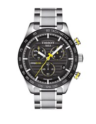 Tissot Prs 516 Stainless Steel Bracelet Chronograph Watch Silver