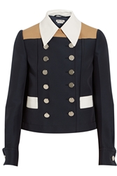 Miu Miu Color Block Twill Jacket