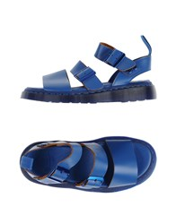 Dr. Martens Footwear Sandals Women Blue