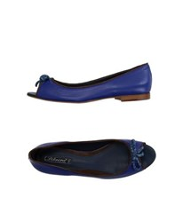 Dibrera By Paolo Zanoli Footwear Ballet Flats Women Bright Blue