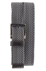Men's Nike Stretch Woven Belt Dark Grey