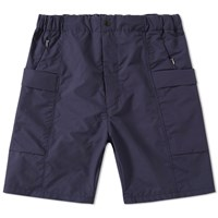 Nanamica Wind Cargo Short Blue